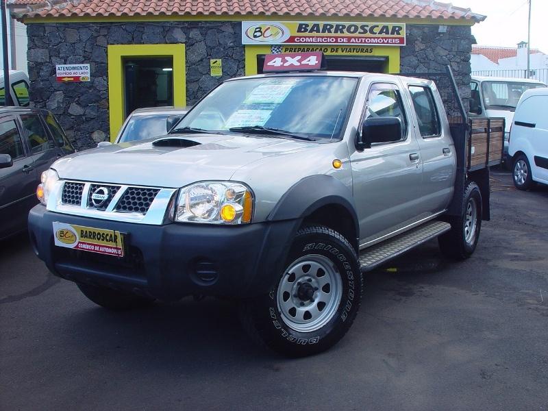 2005 NISSAN PICK-UP PICK-UP 2.5 DI 4X4 CAB. DUPLA CX MADEIRA 5 LUG. 133CV