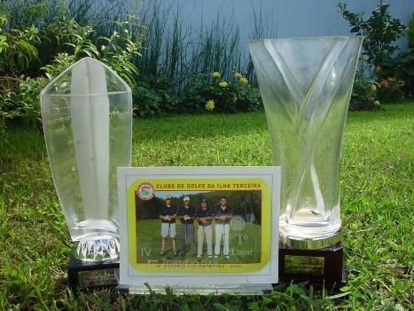1º Lugar e 2º Lugar no Torneio das Empresas em Golf em 2007 e 2008