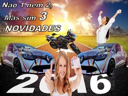 3 NOVAS VIATURAS AO SEU DISPOR EM 2016